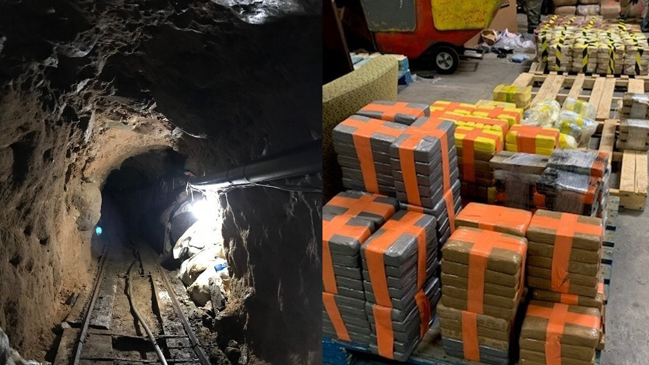 2,000-foot drug smuggling tunnel discovered beneath U.S.-Mexico border