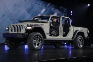 CORRECTION Auto Show Jeep
