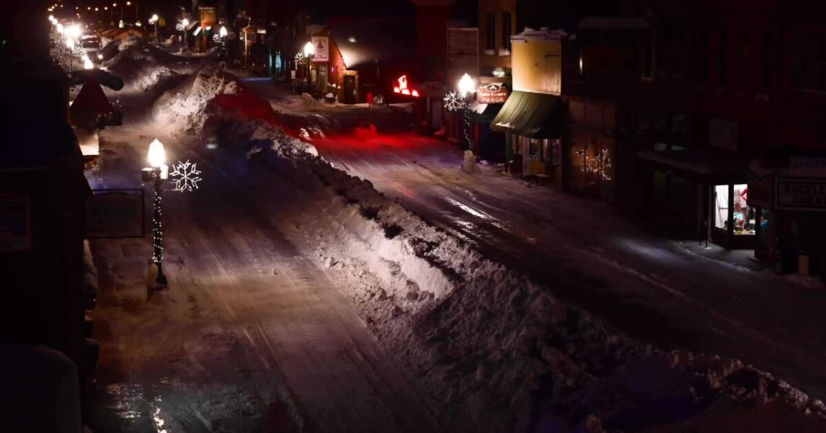 Time Lapse Video Shows Massive Effort To Clear Red Lodge Streets Of Snow