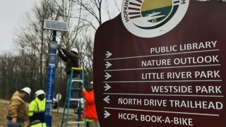 hopkinsville greenway call boxes