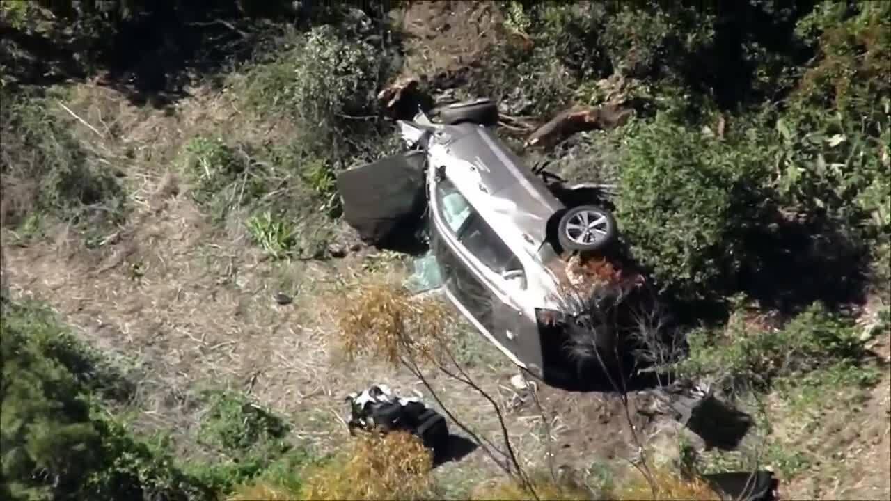 Tiger Woods SUV involved in crash, California