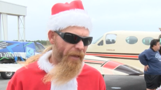 400 pounds of gifts flown to the Bahamas for Christmas