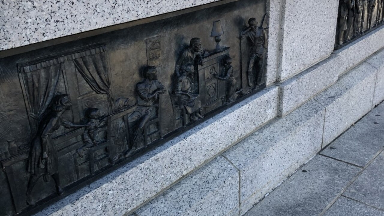 WWII Memorial in Washington D.C.
