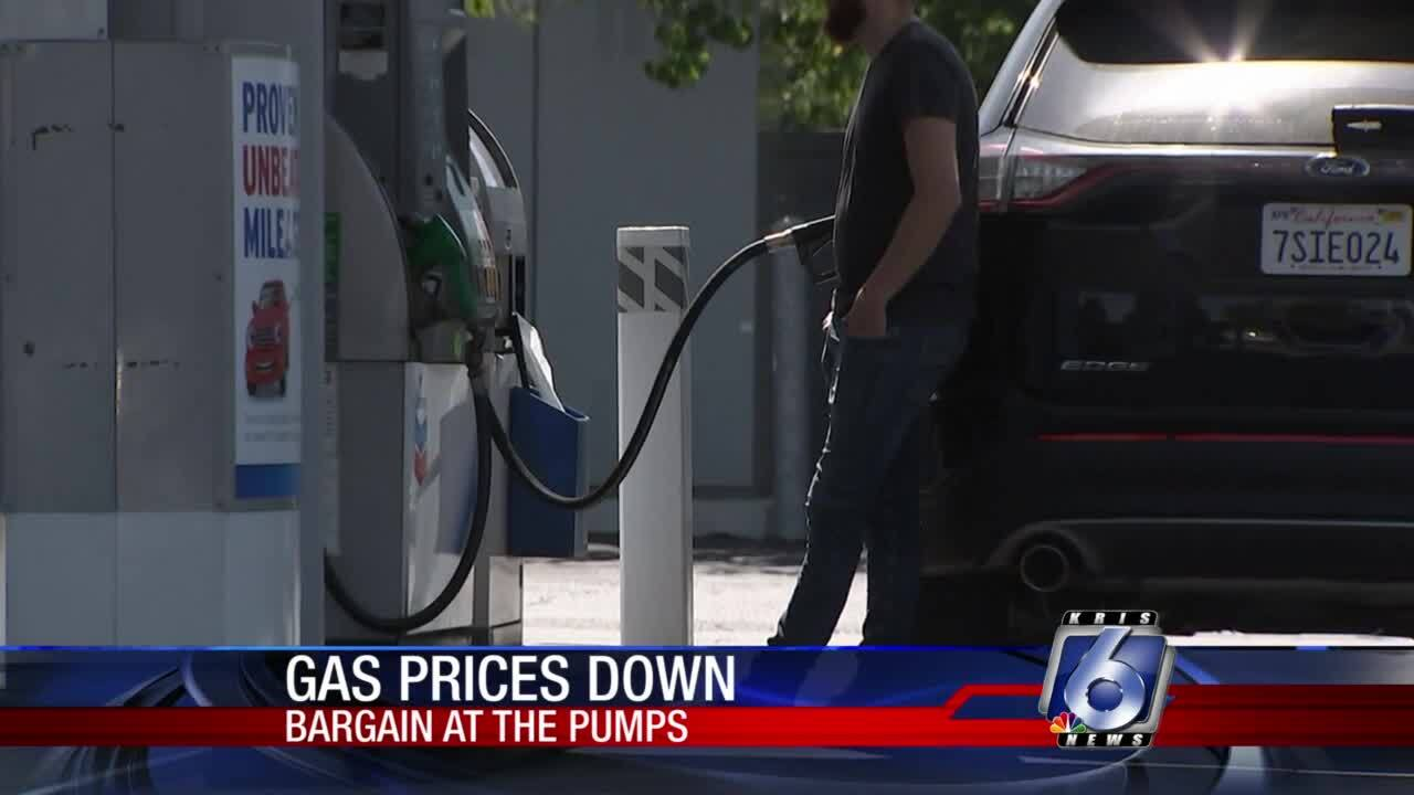 Labor Day gas prices dip to lowest level in 16 years