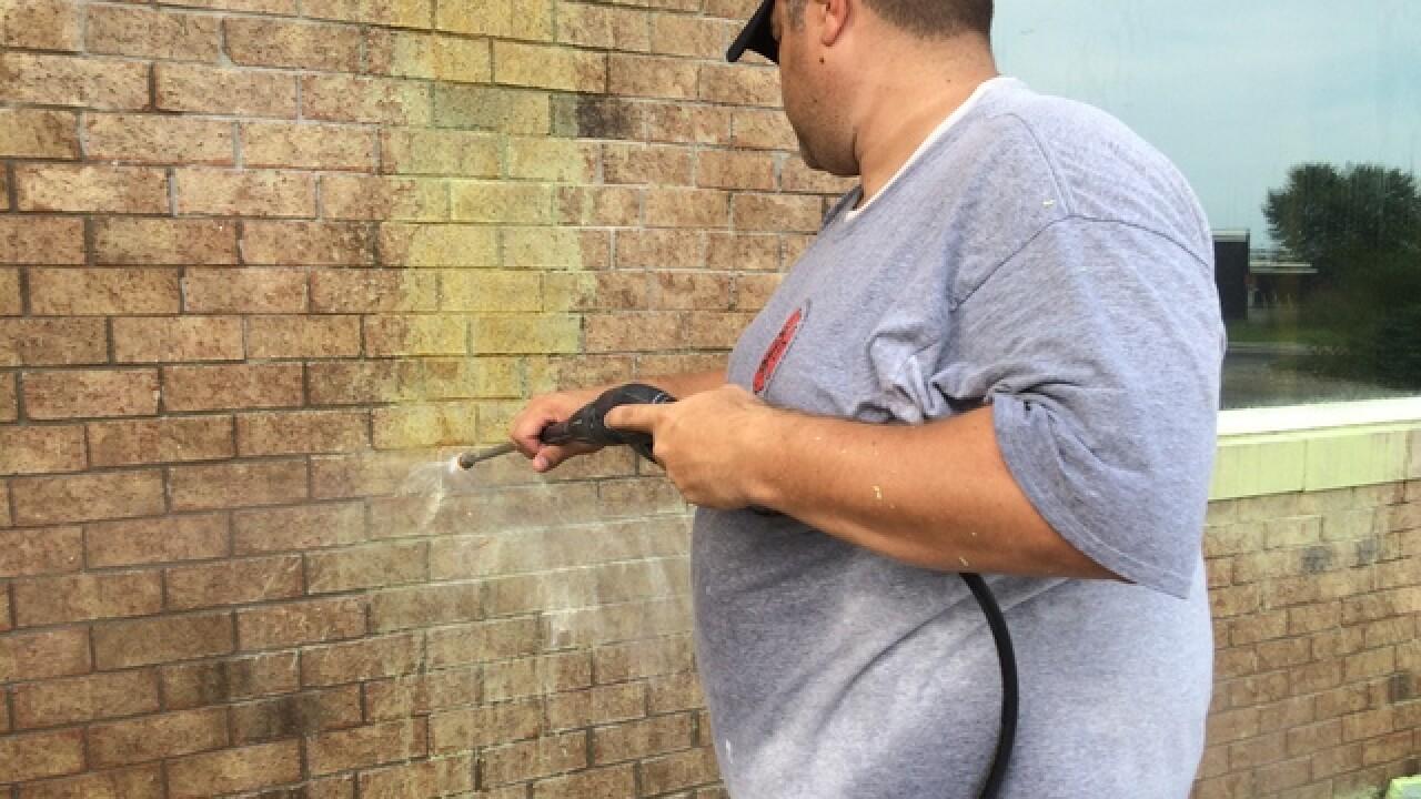 PHOTOS: Vandalism at Jump-N-Joeys