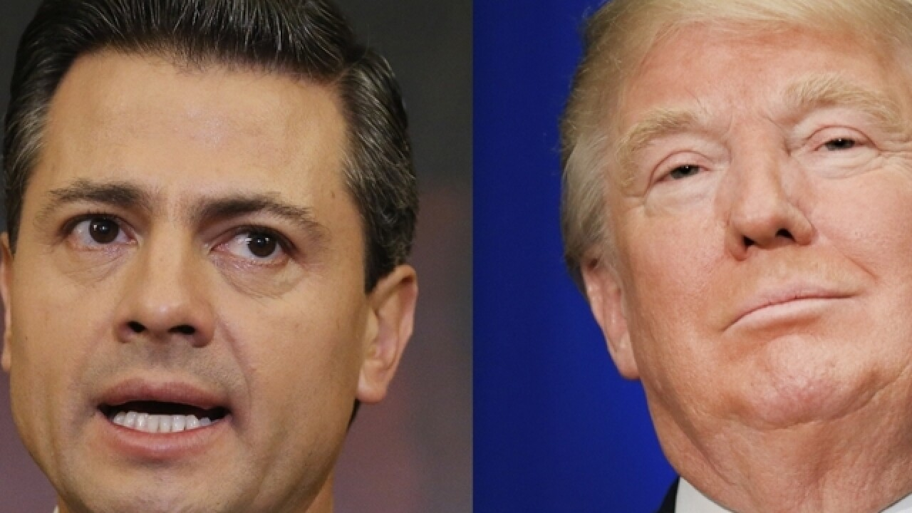 Mexican president: 'Of course' we won't pay for Trump's wall