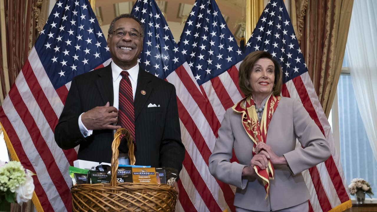 Nancy Pelosi, Emanuel Cleaver