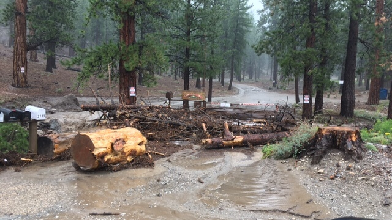 5 rescued from washes, 2 still missing