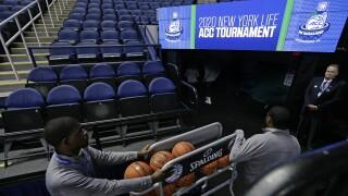 Virus Outbreak ACC Basketball