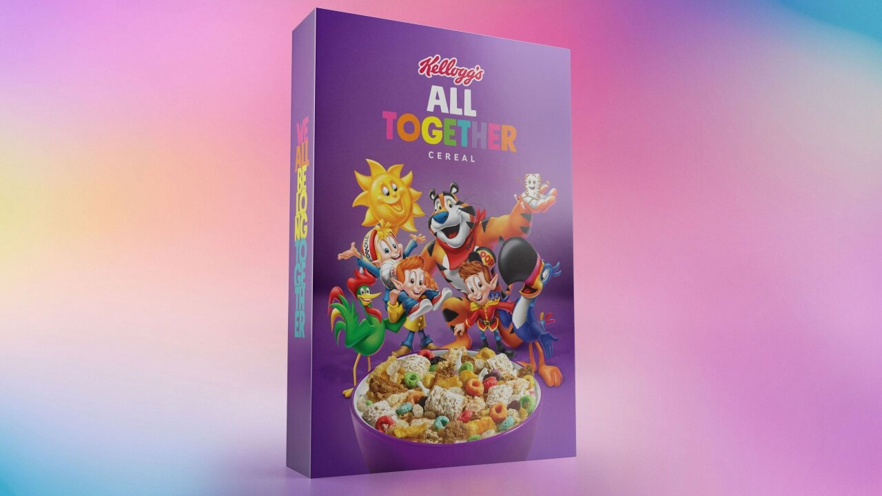 'A symbol of acceptance': Kellogg joins anti-bullying campaign with All Together cereal