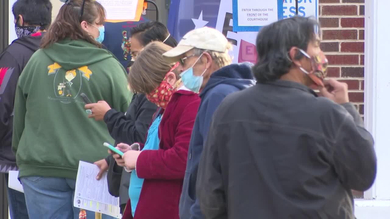 Lake County Nov. 3 Election Line