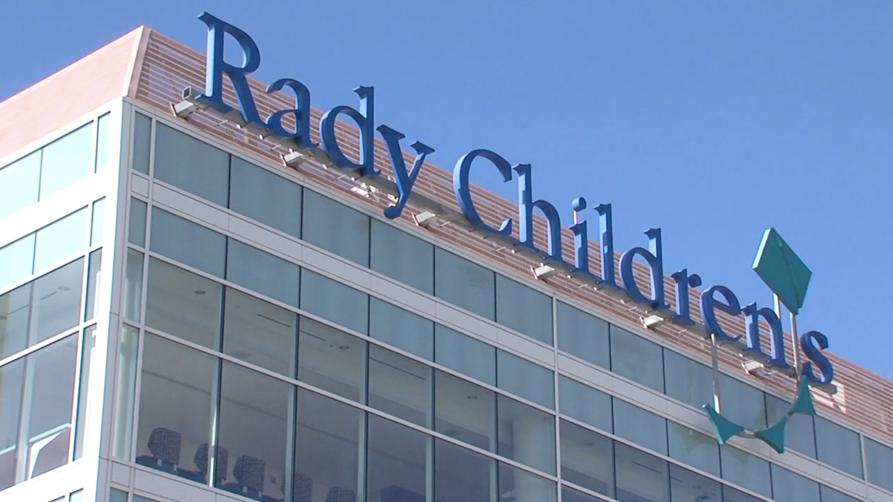 RADY CHILDRENS HOSPITAL SIGN