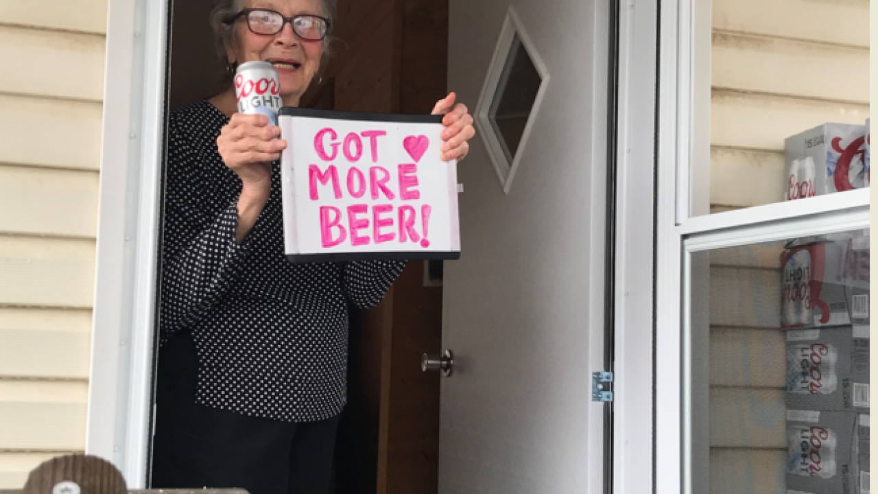 'I need more beer!' 93-year-old Pennsylvania woman runs out of beer, Molson Coors delivers
