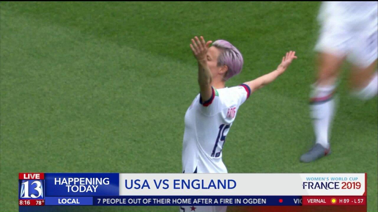 World Cup Semi-final preview: USA vsEngland