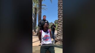Incident between La Mesa officer, man at trolley station surfaces