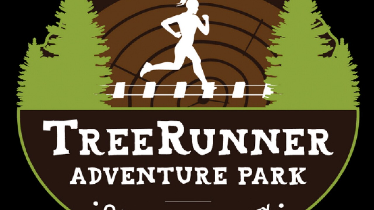 Adventure park with ropes course & zip lines opens this