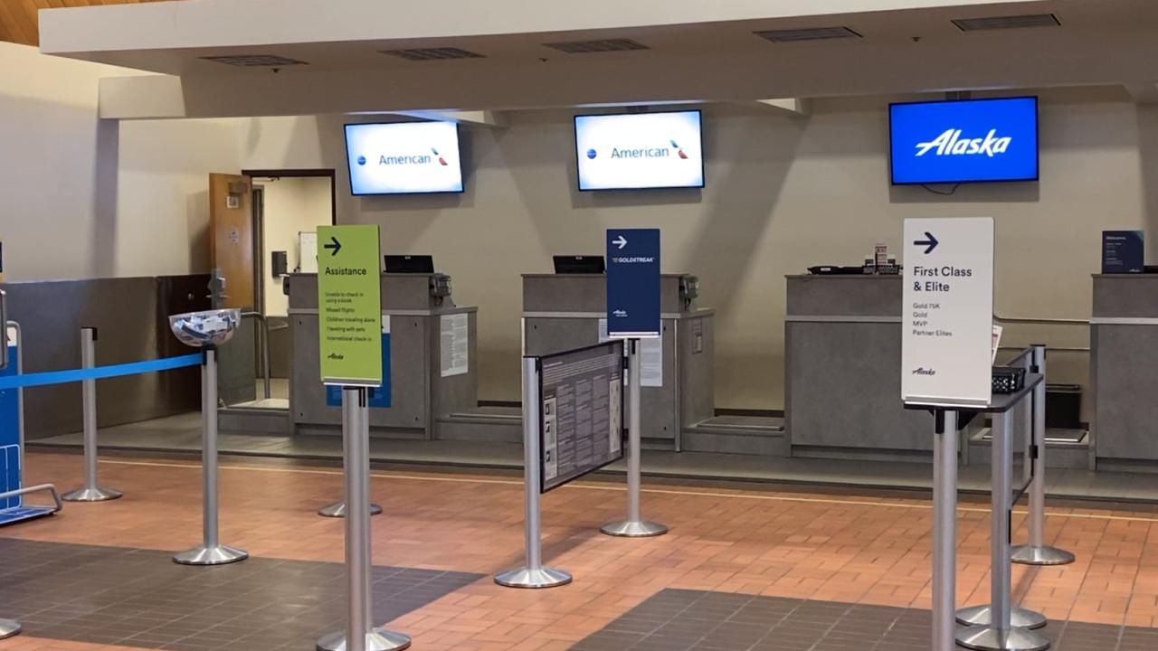 Missoula International Airport Inside
