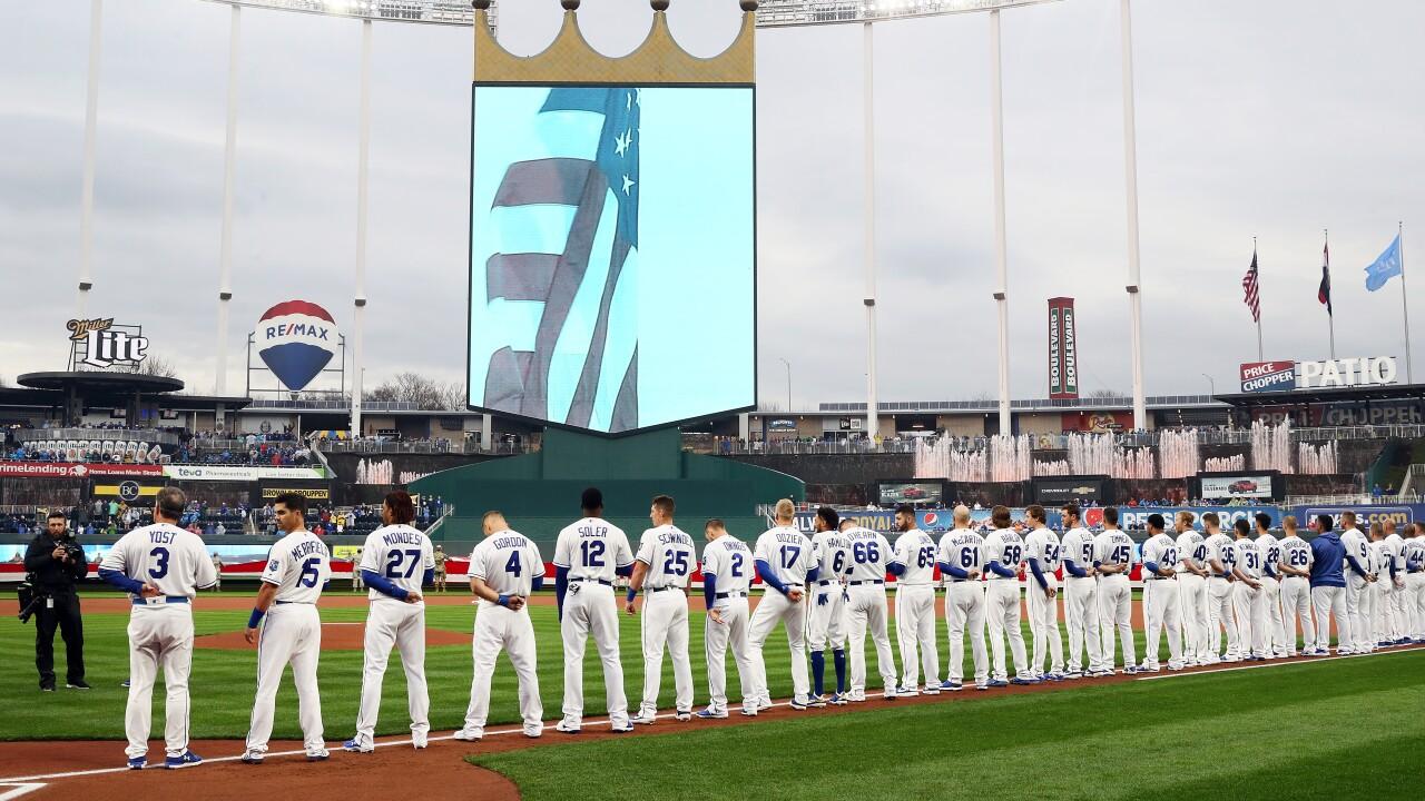 Chicago White Sox v Kansas City Royals Opening Day