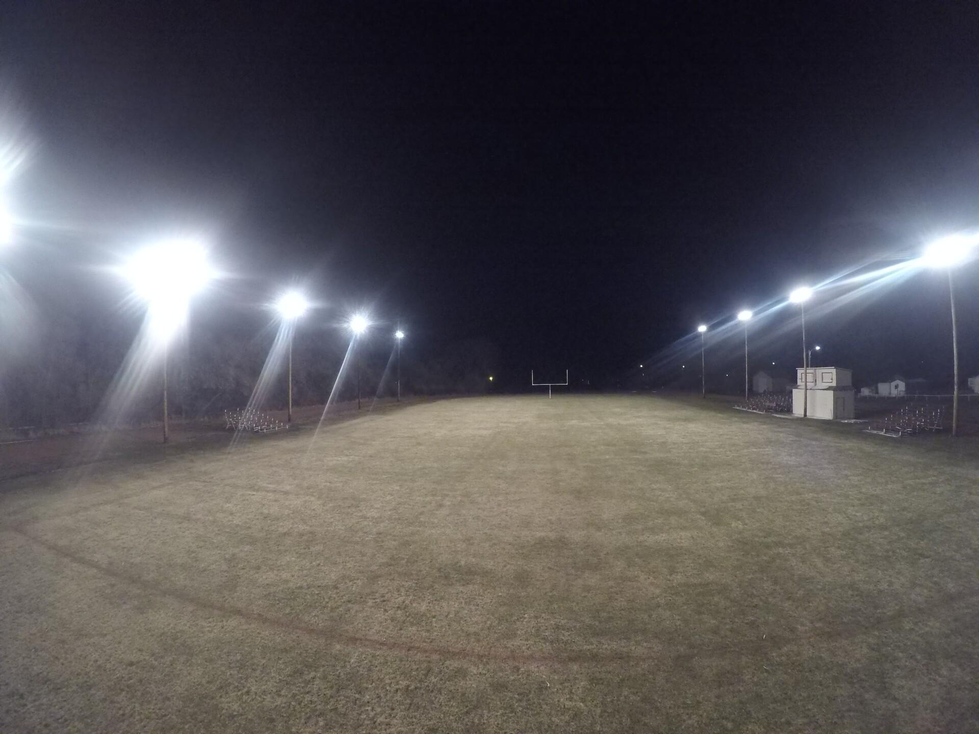 Bridger High School football field