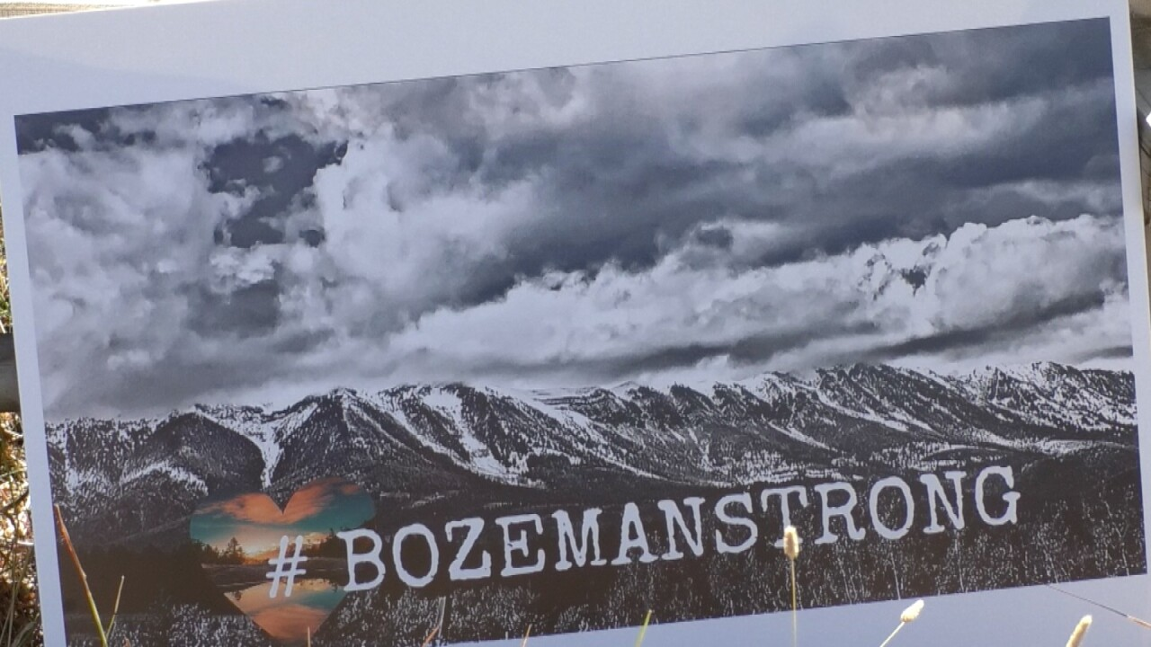 Bridger Creek Canyon shows they are Bozeman Strong despite fire