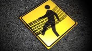 pedestrian death graphic