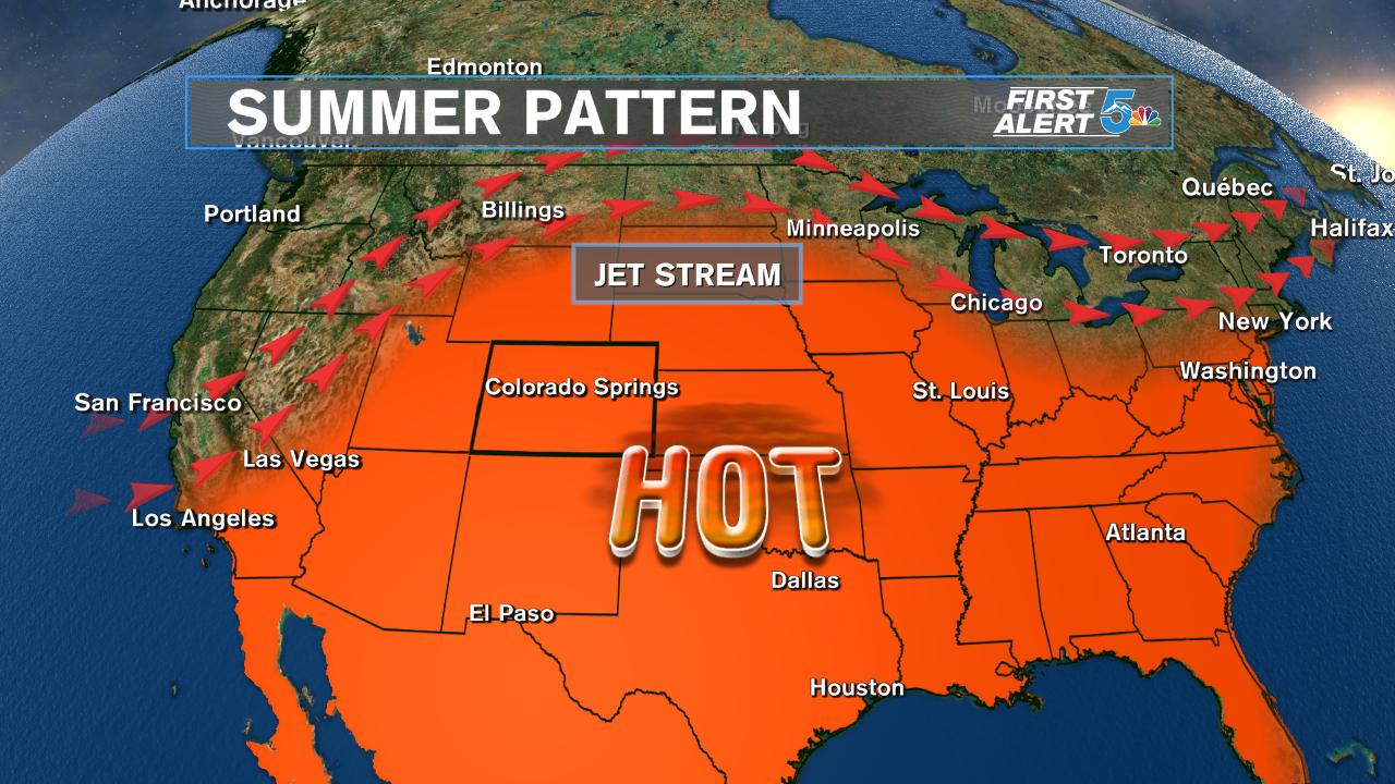 Summer Ridge Pattern