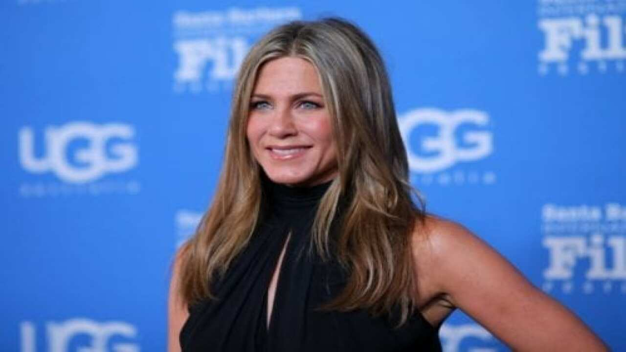Jennifer Aniston Shared Rare 'then And Now' Photos Of Herself And Her Dad