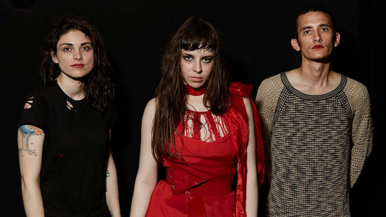 Blood-soaked punk act Le Butcherettes play WCPO