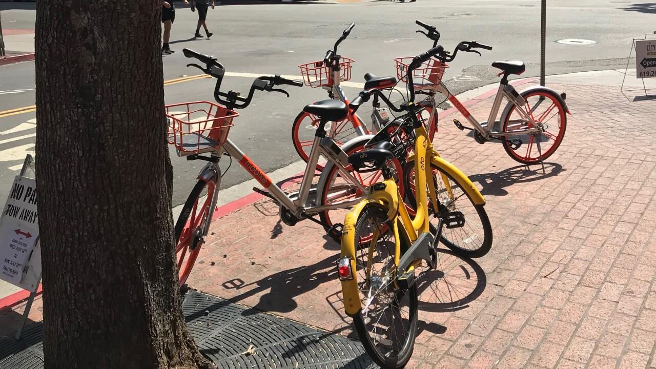 Generic rental bikes