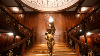 Grand Staircase_Titanic the Artifact Exhibition at Luxor Hotel & Casino.jpg
