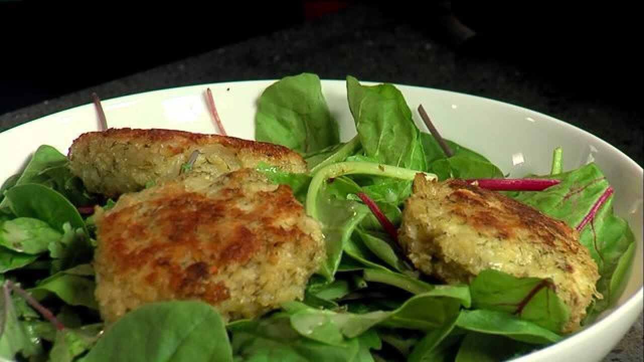 Dijon Tilapia Cakes would make awesome appetizer or entrée