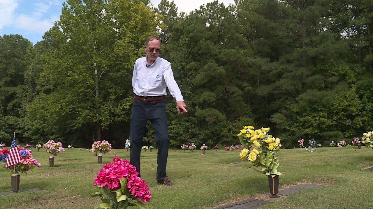 Man claims cemetery owes him refund after gravestone death datemistake