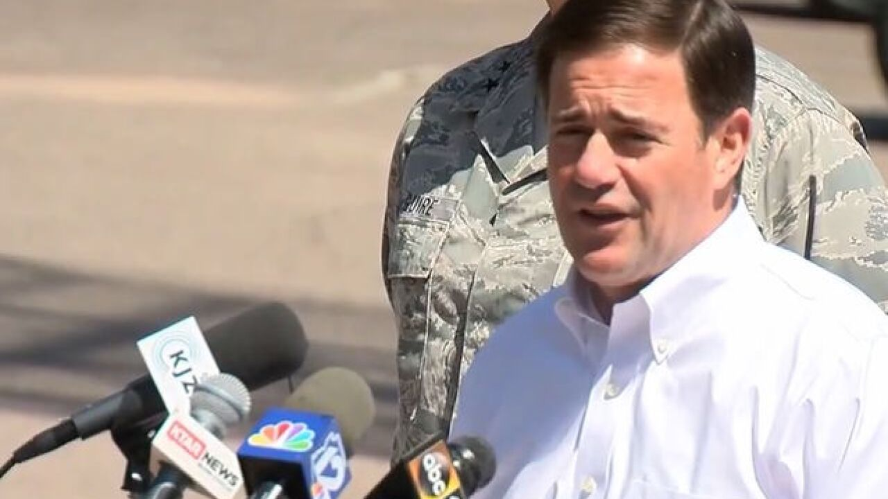 Ducey deploys National Guard to AZ border