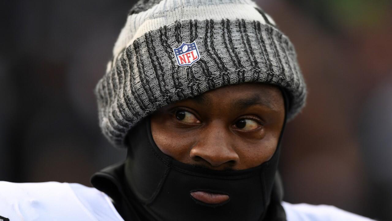 0cd9abe0ea0 Trump calls on NFL to suspend Raiders  Marshawn Lynch