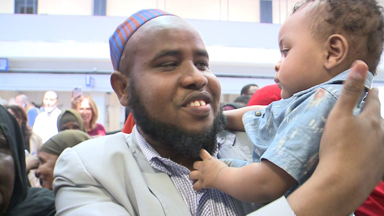 Imam returns to Utah after being put on 'no-fly' list in Africa