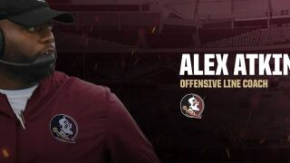 Alex Atkins Hired To Coach Offensive Line