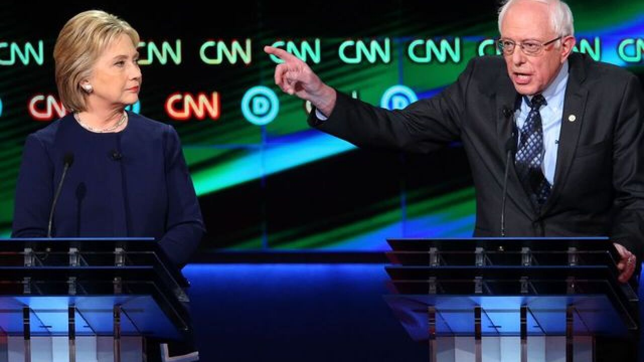 Clinton, Sanders continue to spar