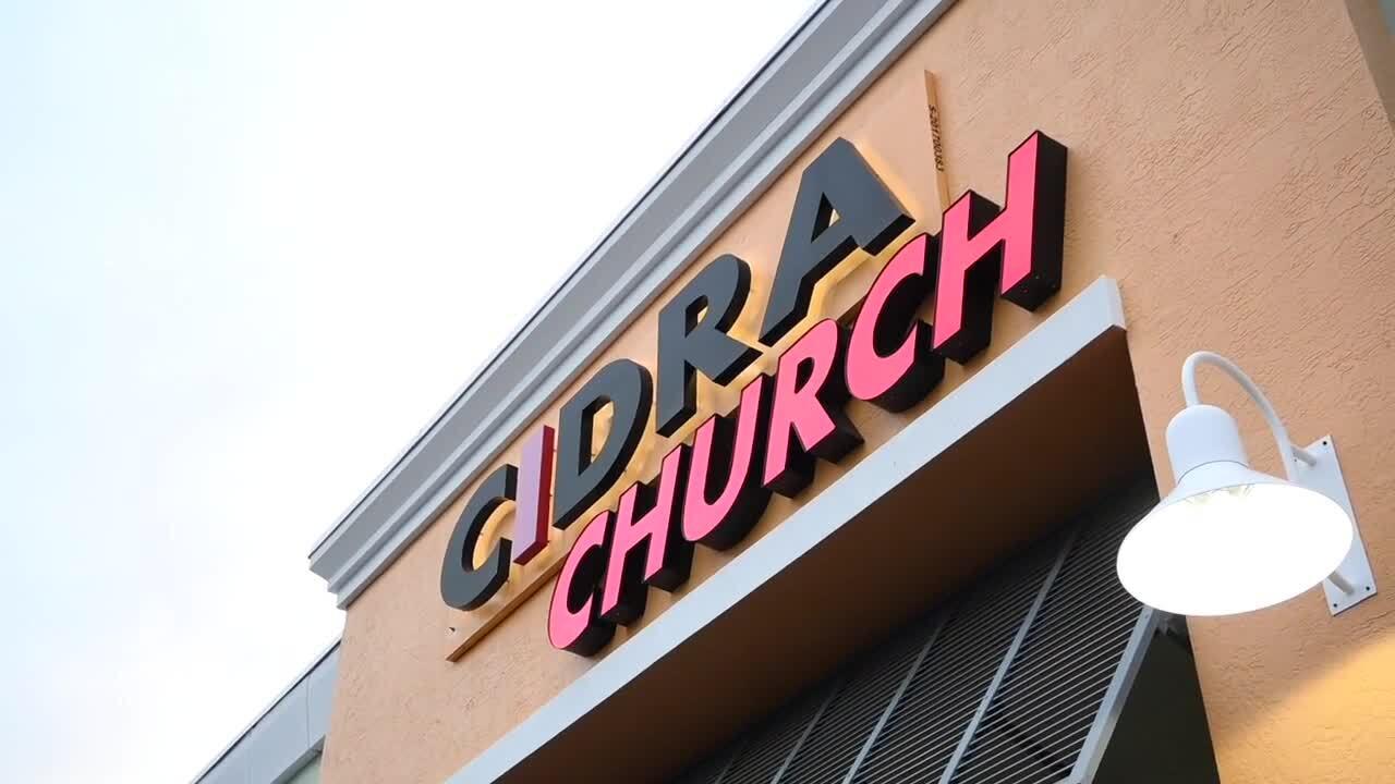 Cidra Church sign
