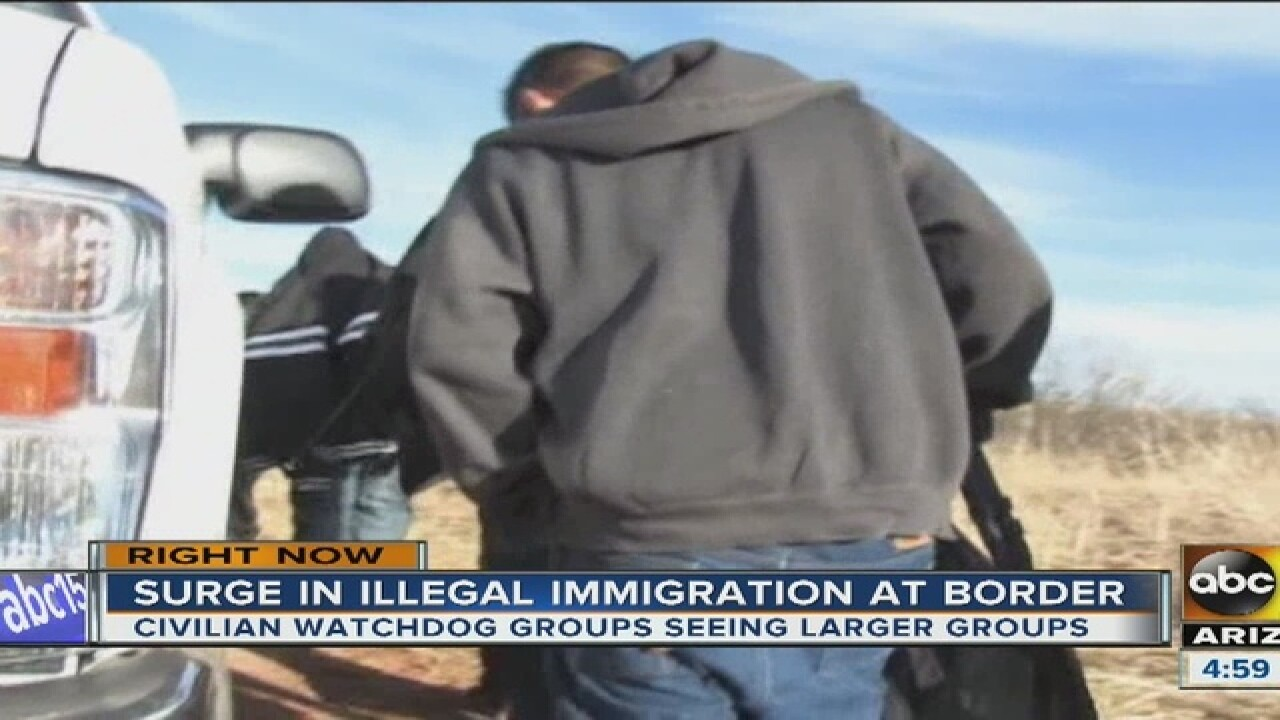 Watchdog groups: increase in border crossings