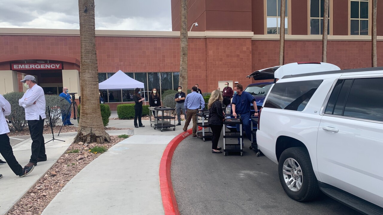400 meals donated to Southern Hills Hospital staff