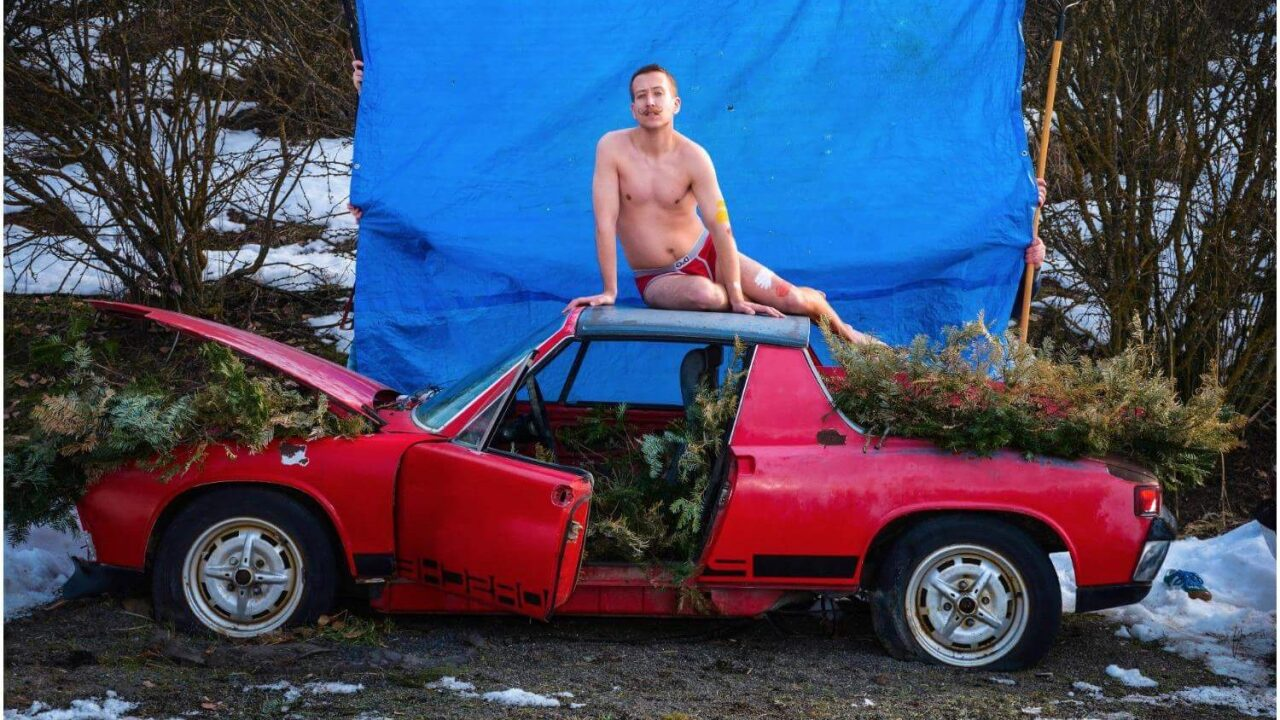 Idaho man has same Porsche as Beyonce's pregnancy photos and it's hilarious