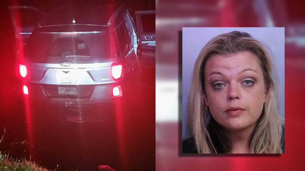 Drunk Florida nurse accused of driving with child into pond