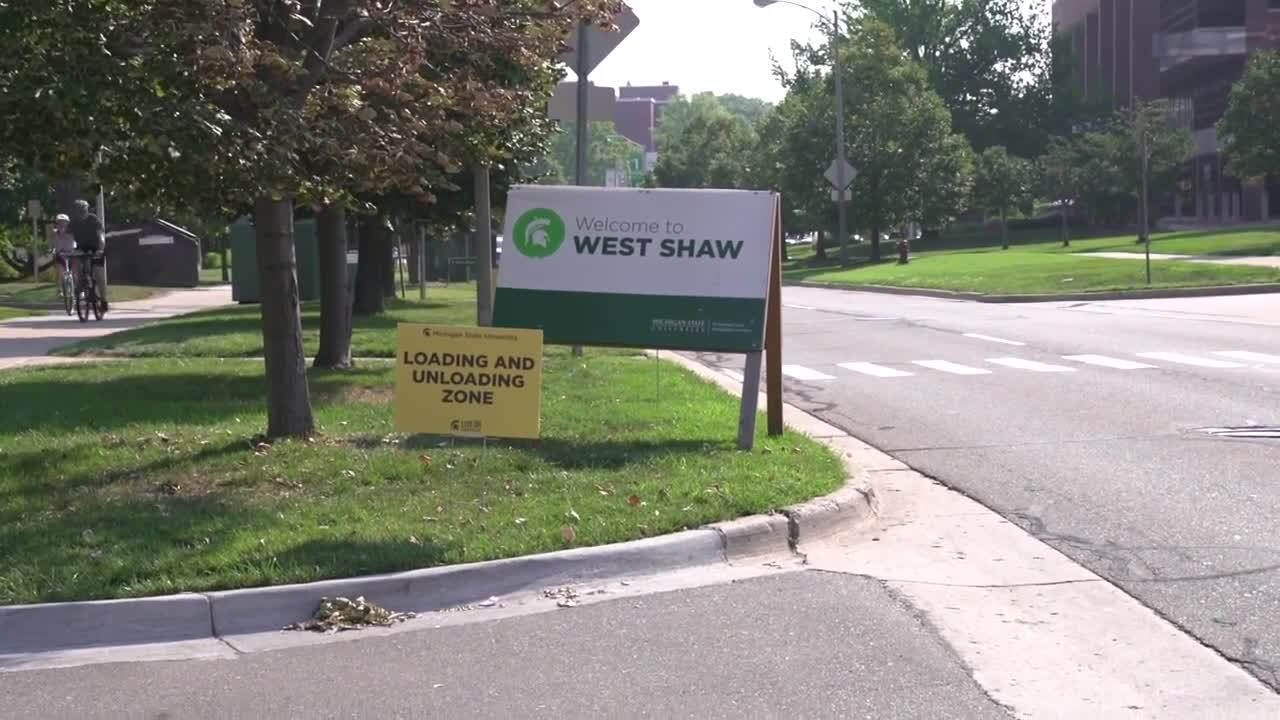 This year, move-in is spread over multiple days and students had to register for a specific move-in time on Michigan State's website to prevent overcrowding.