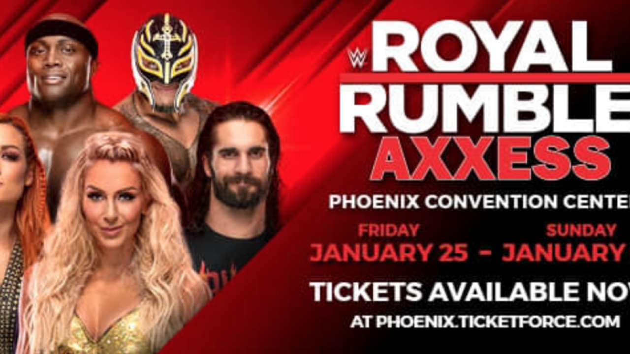 WWE Royal Rumble Axxess in Phoenix: Live matches, TV tapings