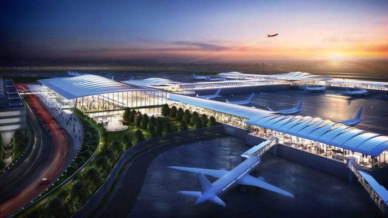 Higher demand forces planners to expand new KCI terminal designs
