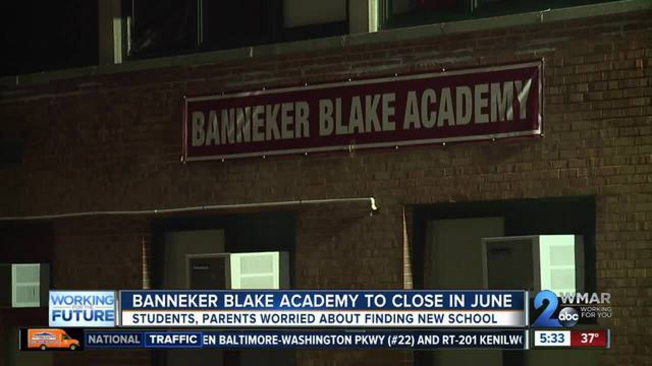 School leaders vote to close Banneker Blake