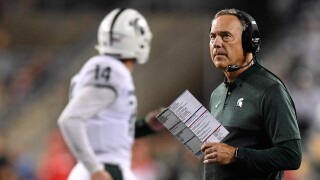 Spartans' re-tooled offense to face No. 8 Badgers' No. 1 defense