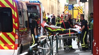 Police launch manhunt for suspect in France bomb blast