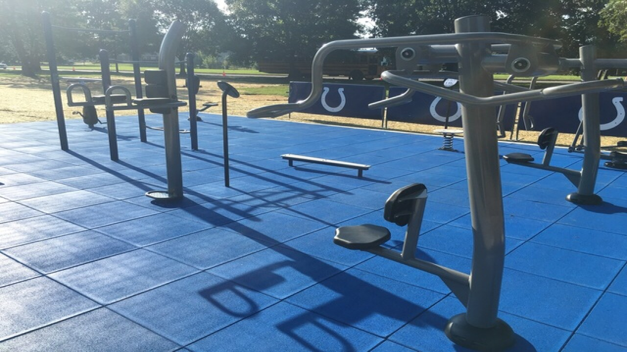 Colts Challenge and Fitness park now open