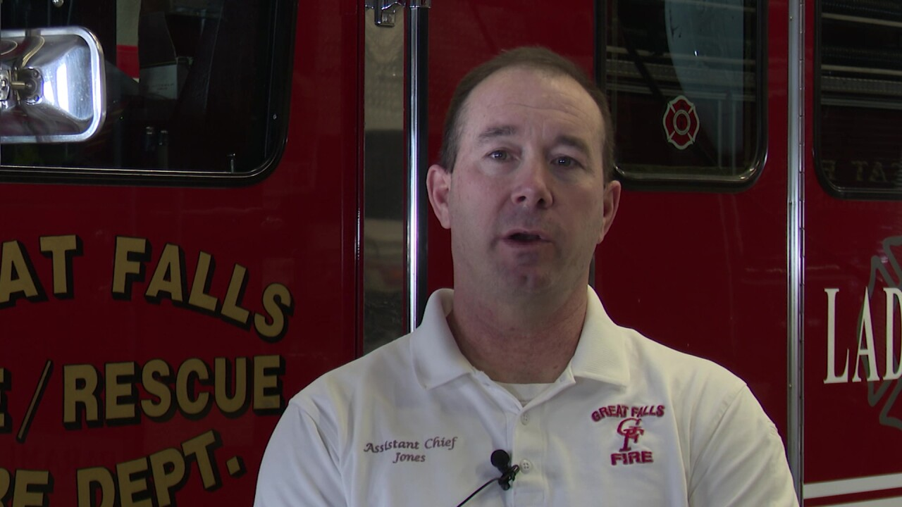 Great Falls Fire Rescue Chief Jeremy Jones